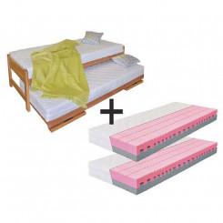 Rozkládací jednolůžková postel s matracemi Madrid I Madrid Postele MHRJDUE02