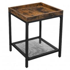 Čtvercový odkládací stolek Vintage Vintage Odkládací stolky MHLET36BX
