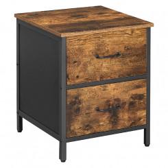 Noční stolek se zásuvkami Vintage Vintage Noční stolky LET069B01