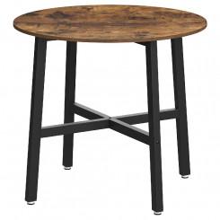 Kulatý jídelní stůl Vintage