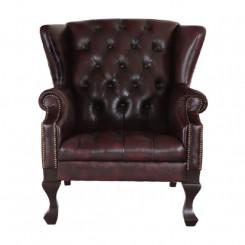 Křeslo červené Chesterfield I Chesterfield Kancelářské židle MHKRCHES02
