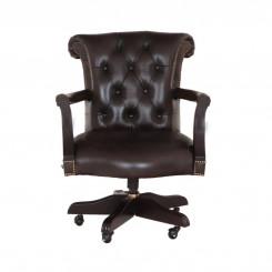 Kancelářská židle Chesterfield z pravé kůže IV Chesterfield Sedací soupravy MHKZCHES04