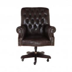 Kancelářská židle Chesterfield z pravé kůže III Chesterfield Sedací soupravy MHKZCHES03