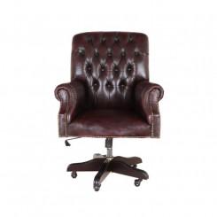 Kancelářská židle Chesterfield z pravé kůže I Chesterfield Křesla MHKZCHES01
