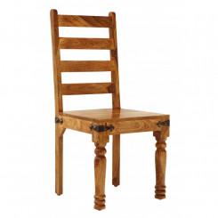 Masivní jídelní židle z...