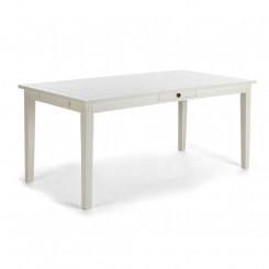 Bílý jídelní stůl z borovice Jessica II Jessica Jídelní stoly MHBJS01