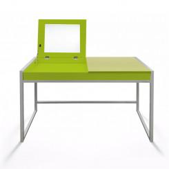 Dětský psací stůl zelený Jessica IV - ZÁNOVNÍ Jessica Pracovní a psací stoly MHSCHM01Z