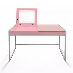 Dětský psací stůl růžový Jessica III - ZÁNOVNÍ Jessica Pracovní a psací stoly MHSCHM01R