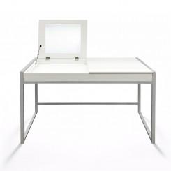 Bílý toaletní stolek/psací stůl Jessica I Jessica Pracovní a psací stoly MHSCHM01B