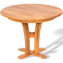 Kulatý zahradní stůl Nero IV Maroco Zahradní stoly a stolky GRD11094