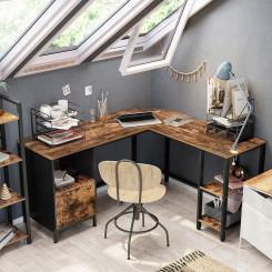 Psací stůl rohový s úložným prostorem Vintage Vintage Pracovní a psací stoly MHLWD75X