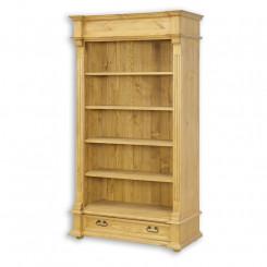 Dřevěná knihovna Corona III