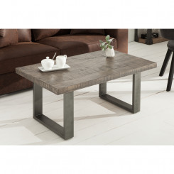 Konferenční stolek z mangového dřeva Metal I Metal Konferenční stolky MH38661MET