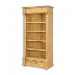 Dřevěná knihovna Corona IV