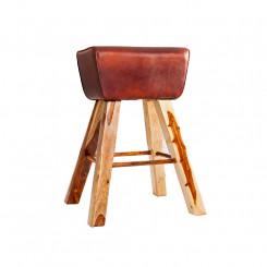 Barová židle z masivního dřeva  Barová židle MH36815