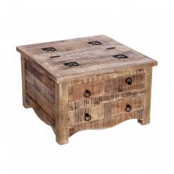 Masivní konferenční stolek z mangového dřeva Metal III Metal Konferenční stolky MH39580MET