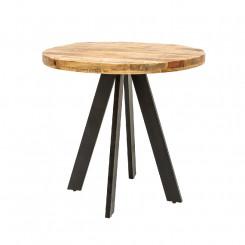 Kulatý jídelní stůl z mangového dřeva Metal II Metal Jídelní stoly MH39400MET