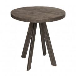 Kulatý jídelní stůl z mangového dřeva Metal I Metal Jídelní stoly MH39368MET