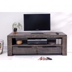 TV stolek z mangového dřeva Metal IV Metal TV stolky a komody MH39281MET