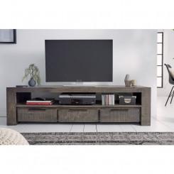 TV stolek z mangového dřeva Metal III Metal TV stolky a komody MH39279MET