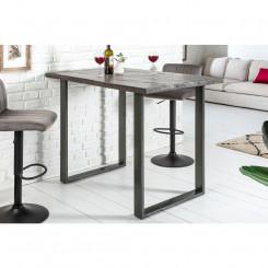 Barový stolek z mangového dřeva Metal II Metal Barové stolky MH38667MET