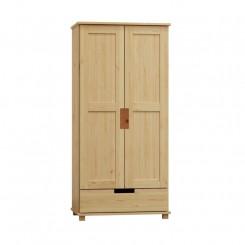 Masivní 2dveřová skříň z borovice Blanco III Blanco Šatní skříně MHBLADREW7-80