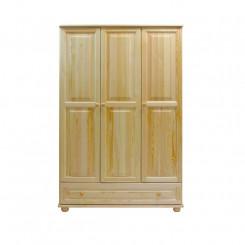 Masivní 3dveřová skříň z borovice Blanco II Blanco Šatní skříně MHBLASZ64-120