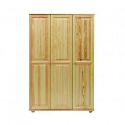 Masivní 3dveřová skříň z borovice Blanco I Blanco Šatní skříně MHBLASZ63-120