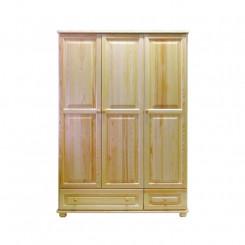 Masivní 3dveřová skříň z borovice Blanco Blanco Šatní skříně MHBLASZ62-120