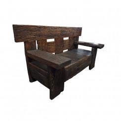 Masivní lavice z teakového dřeva Leonardo Leonardo Zahradní a venkovní nábytek MHLEO128A