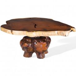Konferenční stolek z tropického dřeva Leonardo I Leonardo Zahradní a venkovní nábytek MHLEO108017