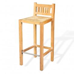 Masivní barová židle z...