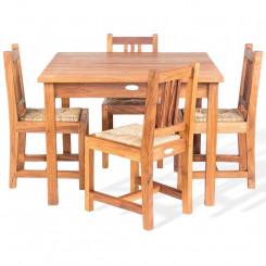 Masivní dětská sestava z teakového dřeva Leonardo Leonardo Zahradní sedací nábytek MHLEO820