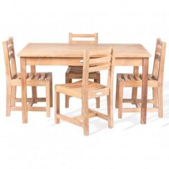 Masivní sestava z teakového dřeva Leonardo I Leonardo Zahradní sety MHLEO821