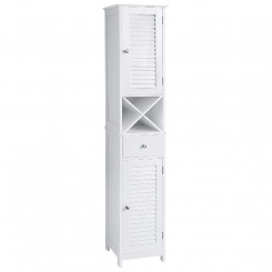 Vysoká skříňka s úložným prostorem Laura Laura Komody a šatní skříně BBC69WT