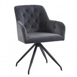 Otočná moderní židle Elza