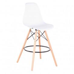 Set 6 barových židlí z buku...
