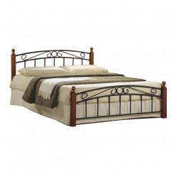 Dvoulůžková postel z kovu...
