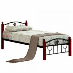 Jednolůžková postel z kovu...