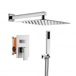 Nástěnný sprchový set z mosazu Zoe - Chrom Zoe Koupelnové baterie MHM6066CI