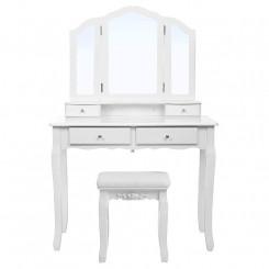 Toaletní stolek se zrcadly Laura Laura Konzolové stolky RDT07W