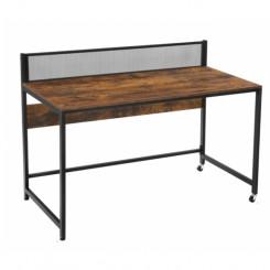 Psací stůl s mřížkou, kancelářský Vintage Vintage Pracovní a psací stoly LWD031B01