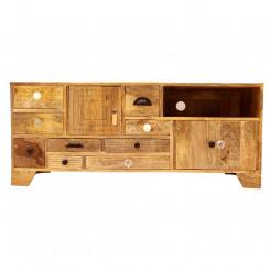 TV stolek z masivního mangového dřeva Massive Home Ella, délka 120 cm Ella TV stolky a komody ELL015