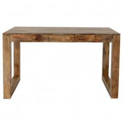Dřevěný psací stůl z mangového dřeva Lilith Lilith Pracovní a psací stoly LIL130