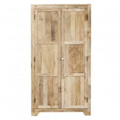 Skříň z masivního mangového dřeva Massive Home Ella, 120 x 200 cm Ella Šatní skříně ELL026