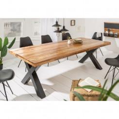 Masivní jídelní stůl Amadeo II