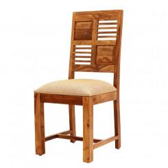 Židle s polstrovaným sedákem Sheesham III Sheesham Jídelní židle SHS302