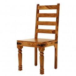 Dřevěná židle Sheesham IV Sheesham Jídelní židle SHS402