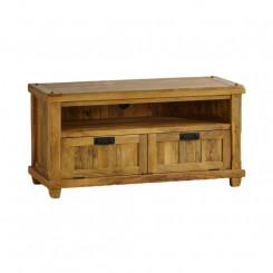TV stolek z mangového dřeva se 2 zásuvkami Massive Home Patna Patna TV stolky a komody MER016