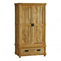 Dvoudveřová šatní skříň z mangového dřeva Massive Home Patna Patna Šatní skříně MER026